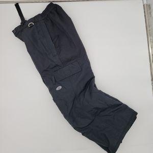 Slalom Unisex Children Snowboard Black pants